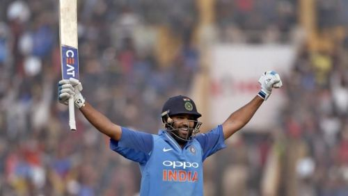 Rohit scored his 16th hundred in ODIs