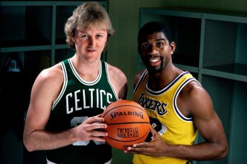 Larry Bird and Magic Johnson both make this list but what about the other three positions?