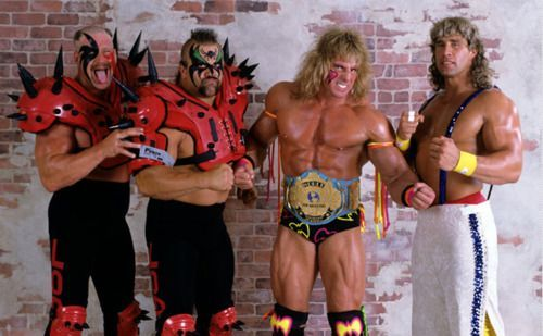 Road Warriors, Ultimate Warrior, and Modern Day Warrior