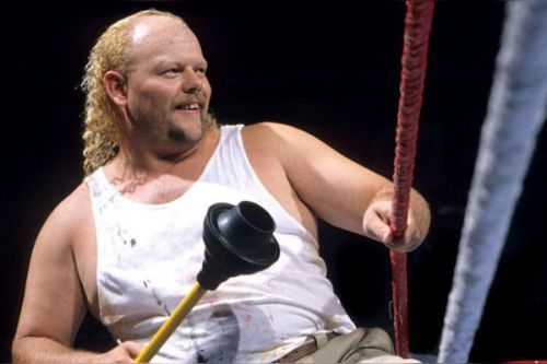 Pictured, not just because it's the nadir of future Godwinn ally Tony Anthony's career, the counter to Bruce Prichard's argument that creative doesn't put someone on TV without considering them a potential main eventer.
