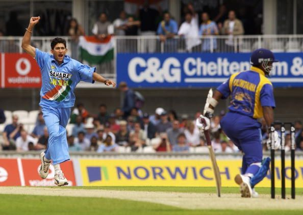 Ajit Agarkar of India