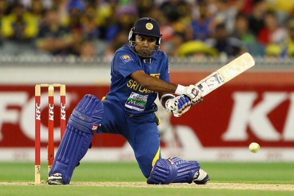 Jayawardene became only the second cricketer to appear in 600 international matches