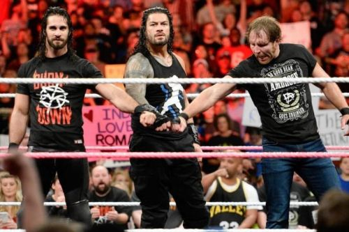 The Shield in a rare moment of unity in 2017.