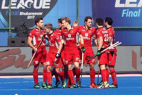 Belgium Hockey Team