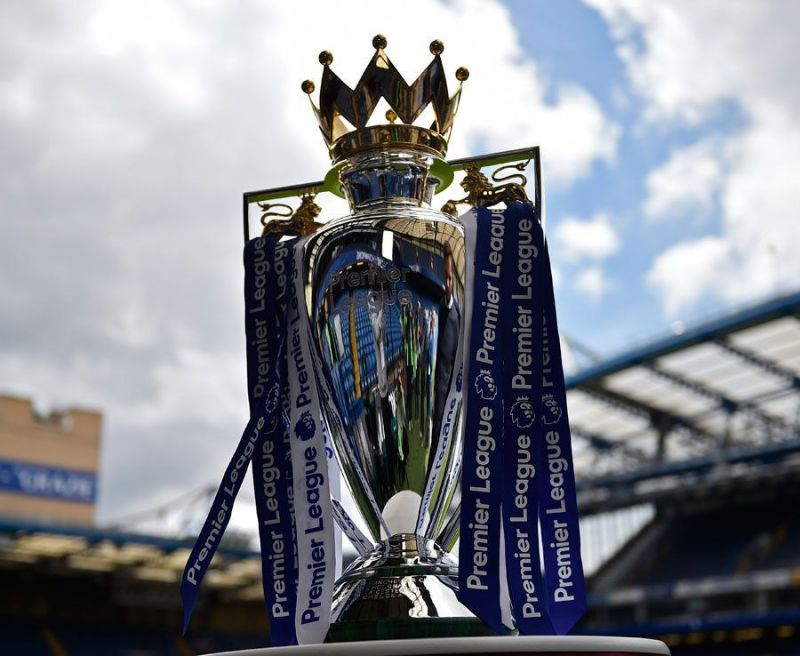 Image result for premier league trophy