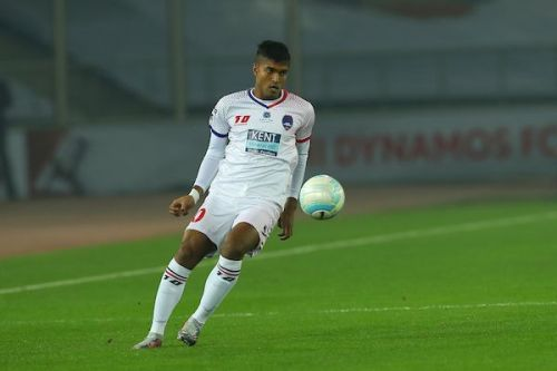 Pritam Kotal was poor in the last game, but was one of Delhi's best players. (Photo: ISL)