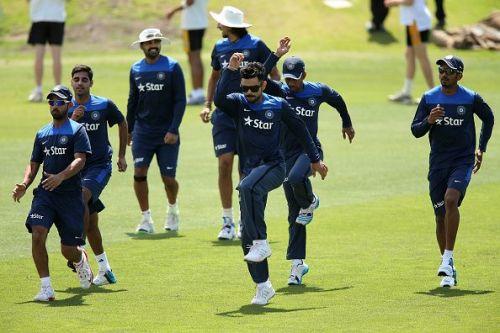 India Cricket Team Training