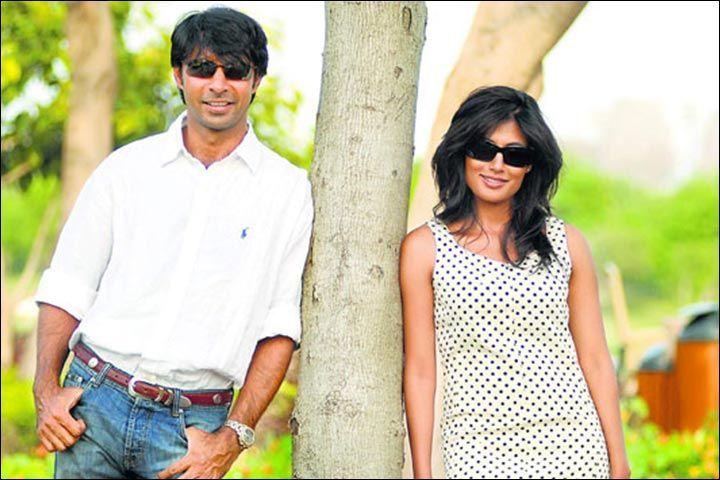 Jyoti and Chitraganda during happier times