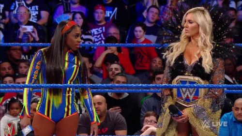The first-ever announced entrant into the Women's Royal Rumble match