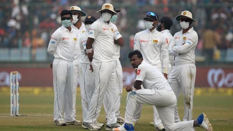 Image result for Sri Lankan cricketers masks
