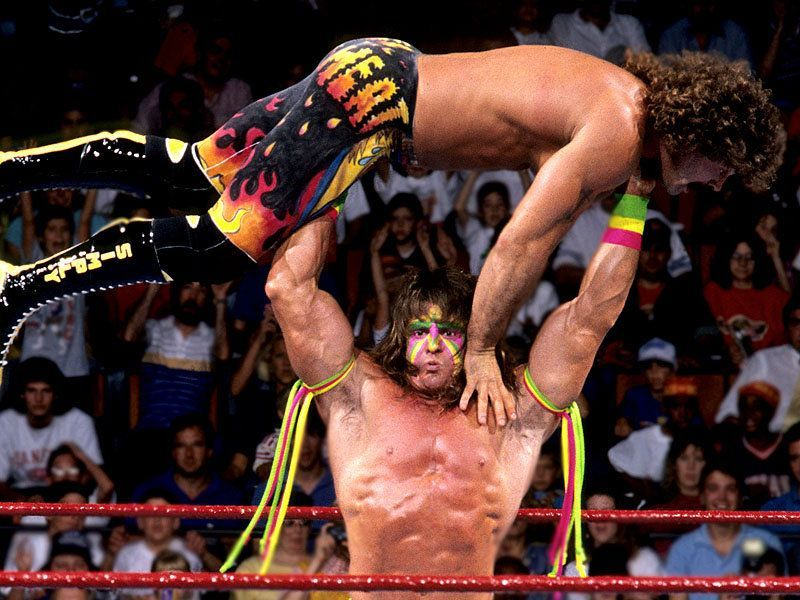 Warrior was one of the strongest wrestlers of all time.