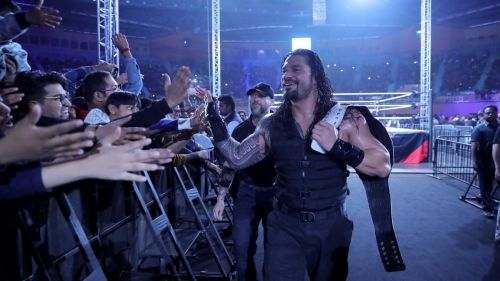 We bet WWE wishes they could carry this audience to every single arena!