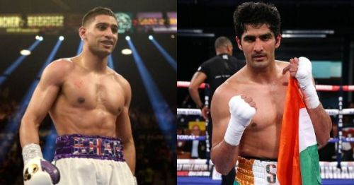 A possible fight between Amir Khan and Vijender Singh has been the talk of the town after the latter's win over Ernest Amuzu.