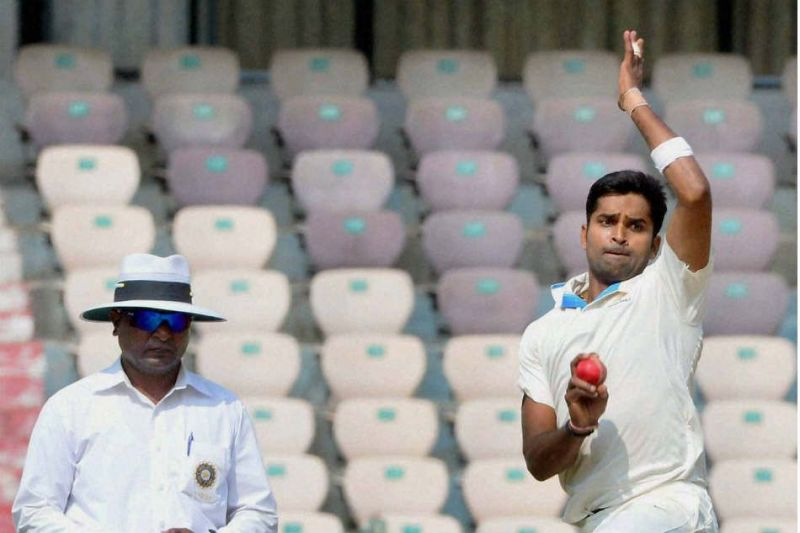 Image result for Ranji Trophy: Vinay's hat-trick floors Mumbai on Day 1