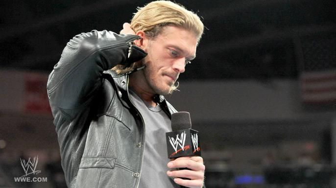 Edge was forced to retire from WWE back in 2011