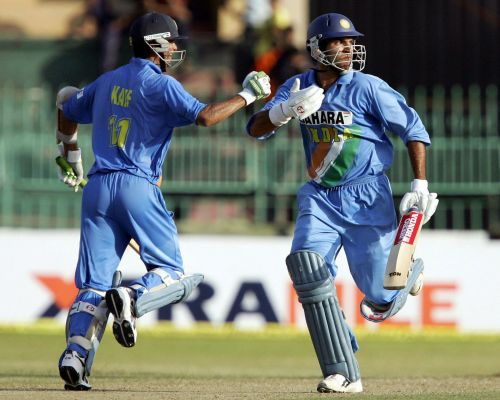The Key Members of Indian Middle Order in the early 2000s