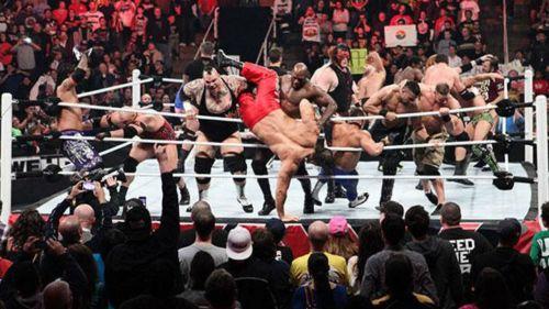 The worlds favourite WWE match