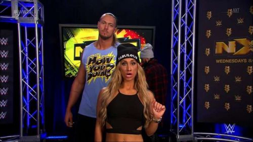 Image result for carmella big cass incident