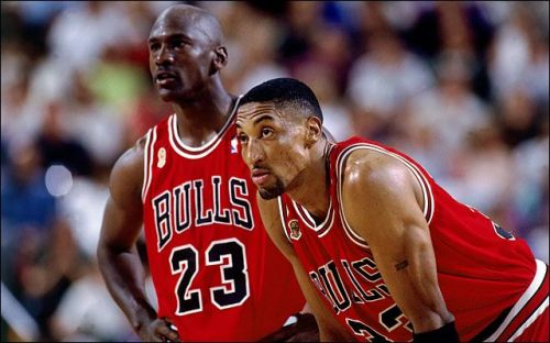 Michael Jordan and Scottie Pippen (Image courtesy: nba.com)