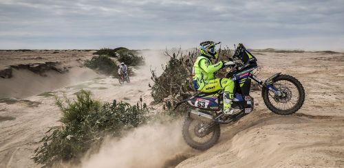 Aravind KP Dakar 2018 TVS Racing