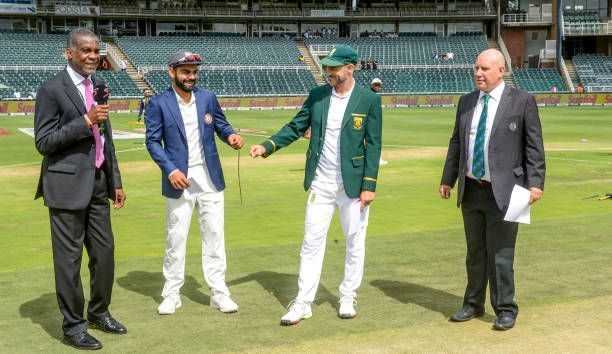 3rd Sunfoil Test: South Africa v India, Day 1