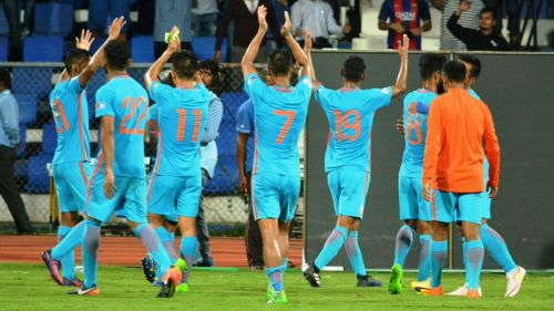 Indian Football Team. Photo: @IndianFootball