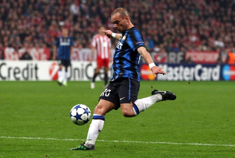 Sneijder was on fire in the 2009-2010 season for club and country