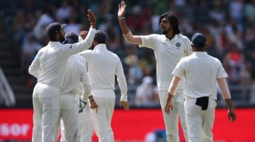 Image result for india vs south africa 2018 3rd test: Ishant and Bumrah