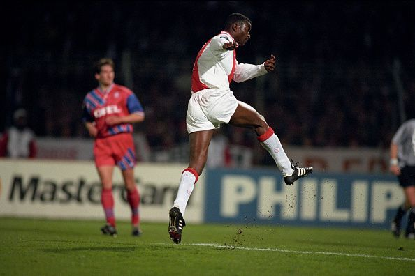 Finidi George routinely destroyed defenders as part of the famous mid-90s Ajax side