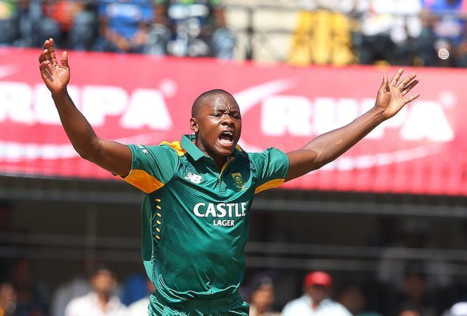 Image result for India vs South Africa Kanpur, 2015 rabada