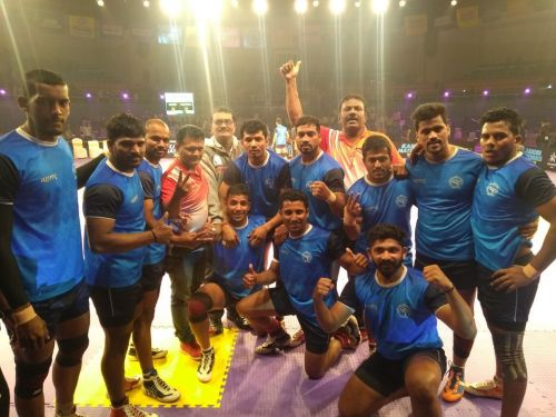 Maharashtra emerged the winners of the Senior National Kabaddi Championships with an exciting win over Services in the finals