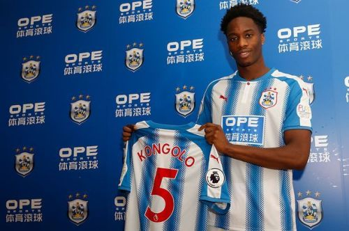 Kongolo has joined Huddersfield Town on loan till the end of the season