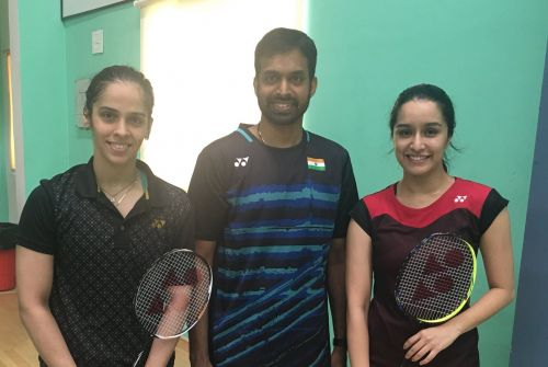 Shraddha Kapoor getting training from Gopichand and Nehwal
