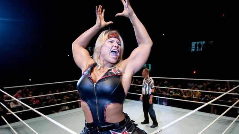 Beth Phoenix would make the whole place erupt with glee!