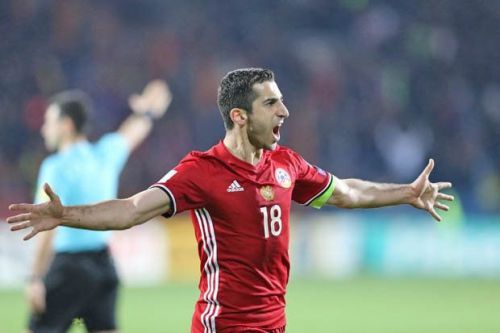 Henrikh Mkhitaryan's Armenia could be coming to play India later this year.