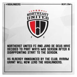 The NEUFC statement that was taken down.