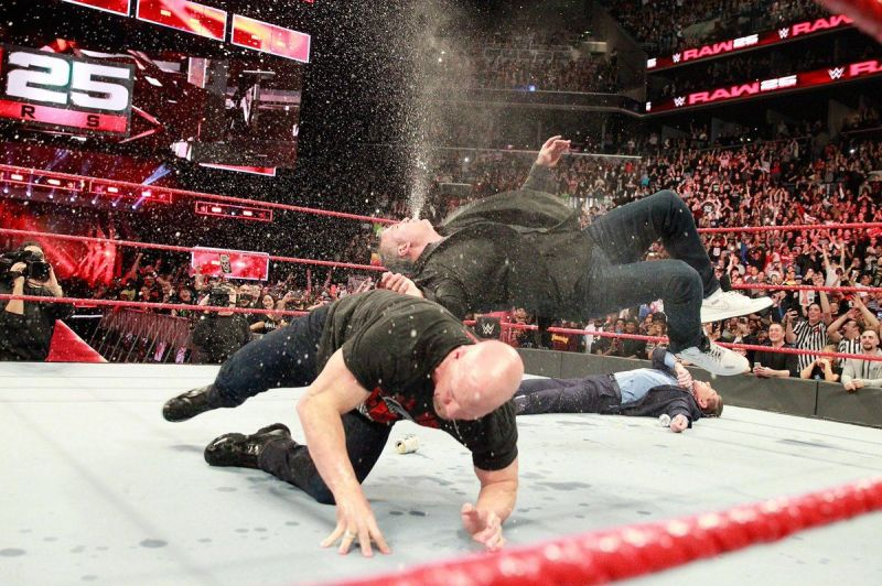WWE News Shane McMahon Comments On Sharing The Ring With Stone Cold Steve Austin RAW 25