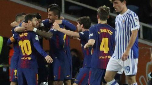 FC Barcelona didn't look like losing despite falling 2-0 behind