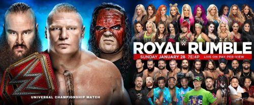 Royal Rumble 2018 poster