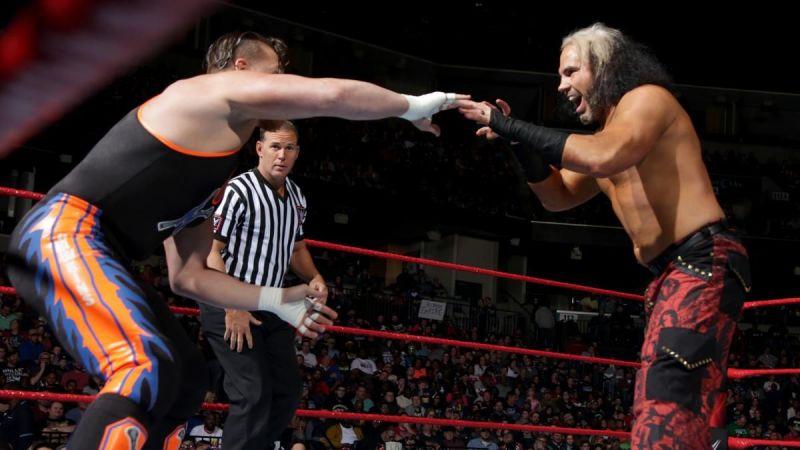 Matt Hardy made his in-ring return on Monday Night Raw