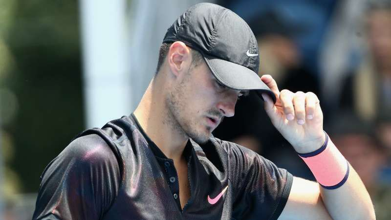Tomic failed to qualify for his home Grand Slam