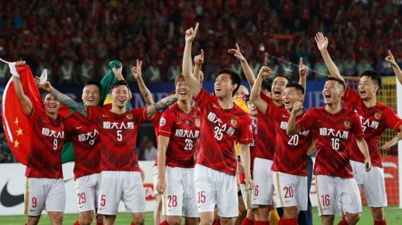 Image result for Guangzhou Evergrande