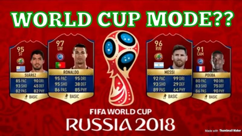 dbca30a0d FIFA 18  EA Sports to introduce free 2018 World Cup mode