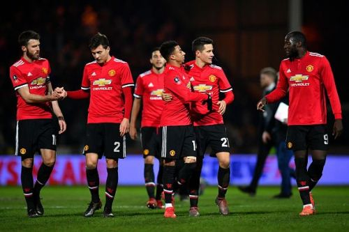 United secured their safe passage to the next round with a convincing win