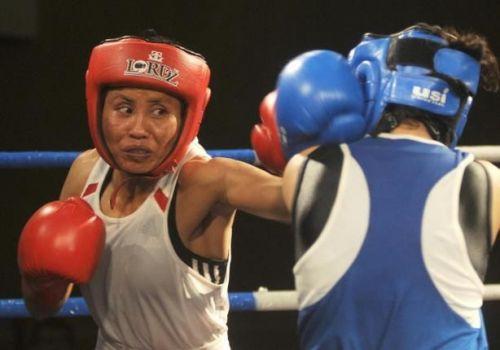 Sarita Devi in action