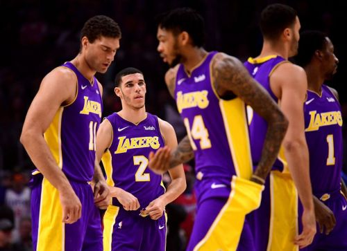 The 2017-18 Los Angeles Lakers