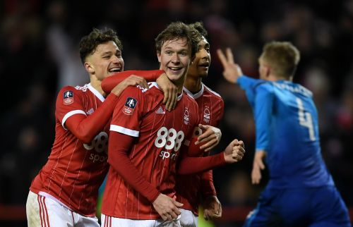 Nottingham Forest handed Arsene Wenger's men only their second defeat in 24 FA Cup games