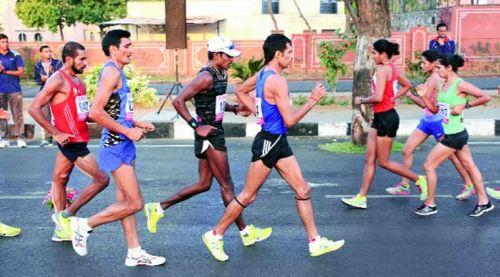 Race Walkers Indian