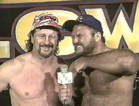 AA and Terry Funk in ECW