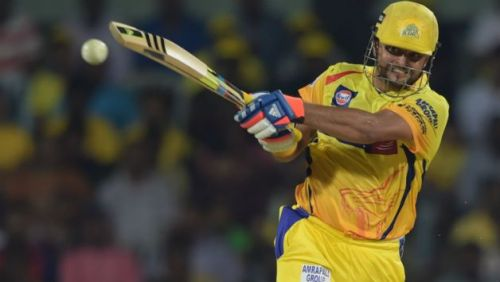 Raina has not missed a single game for Chennai Super Kings